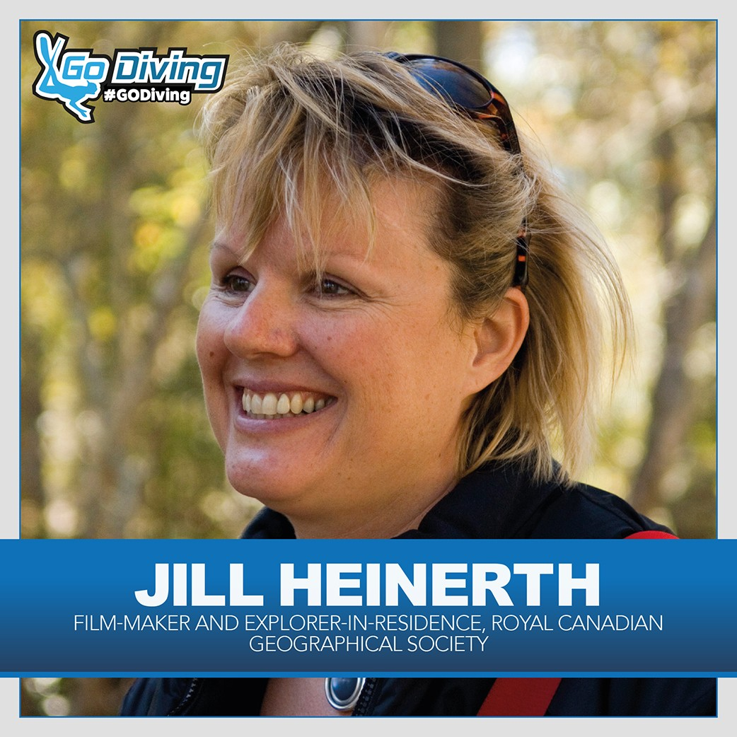 World-renowned cave diver Jill Heinerth joins team 1