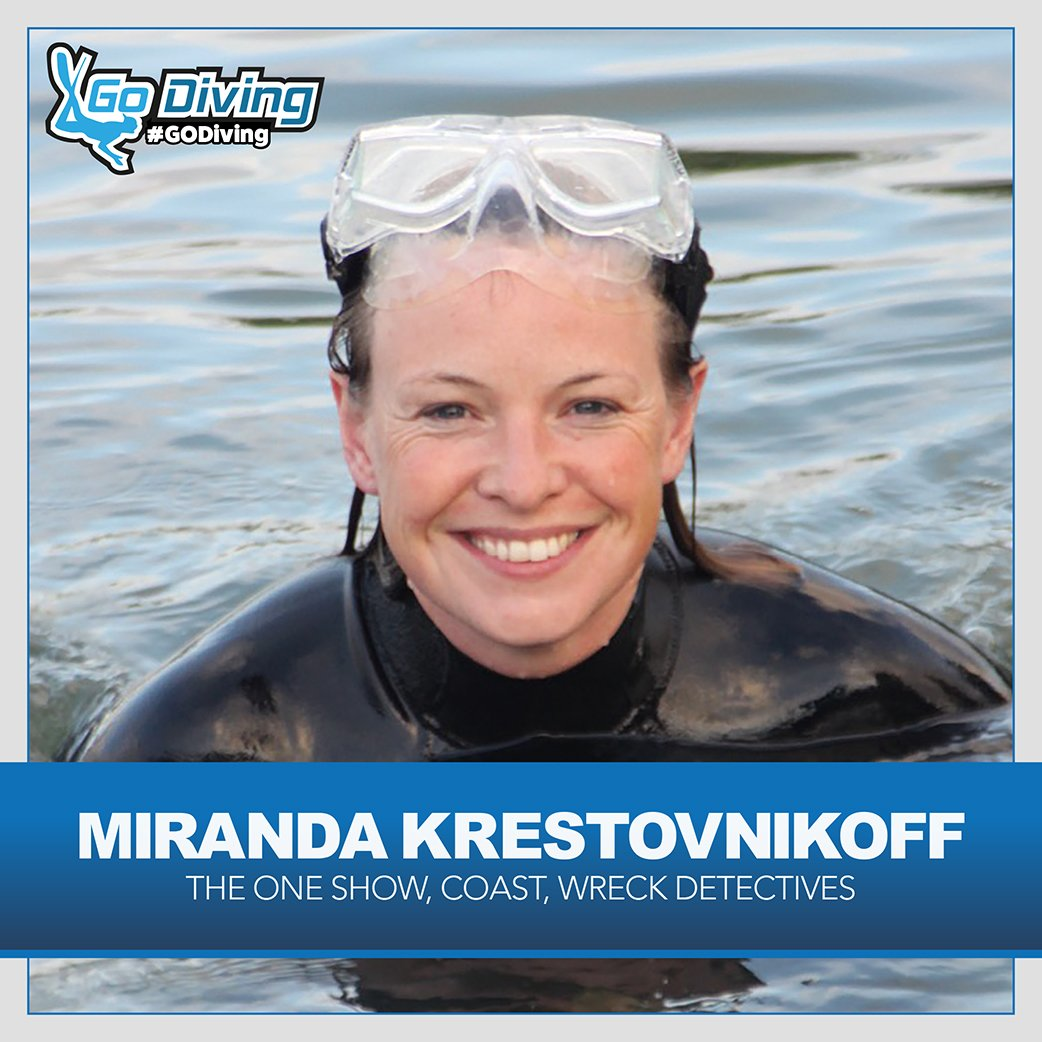 Miranda Krestovnikoff joins Andy Torbet as GO Diving compere 1