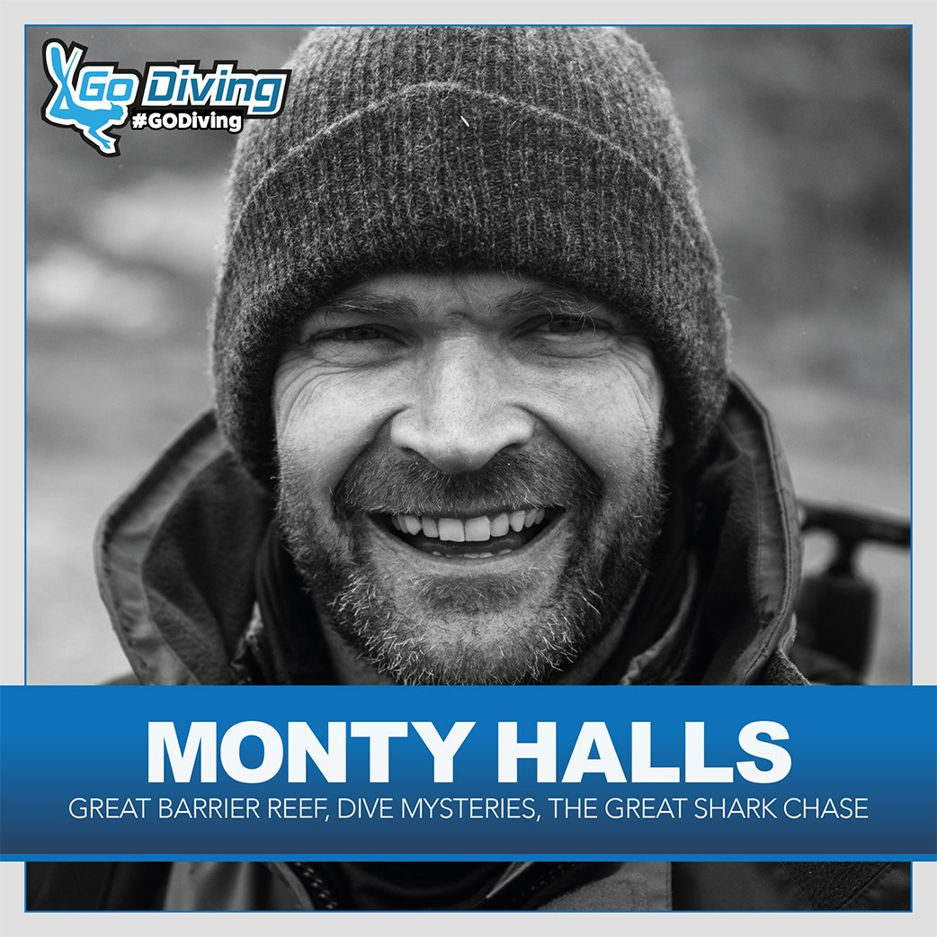 Dive industry staple Monty Halls joins GO Diving show lineup 1