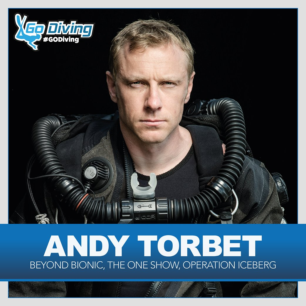 Andy Torbet confirmed as GO Diving compere 1
