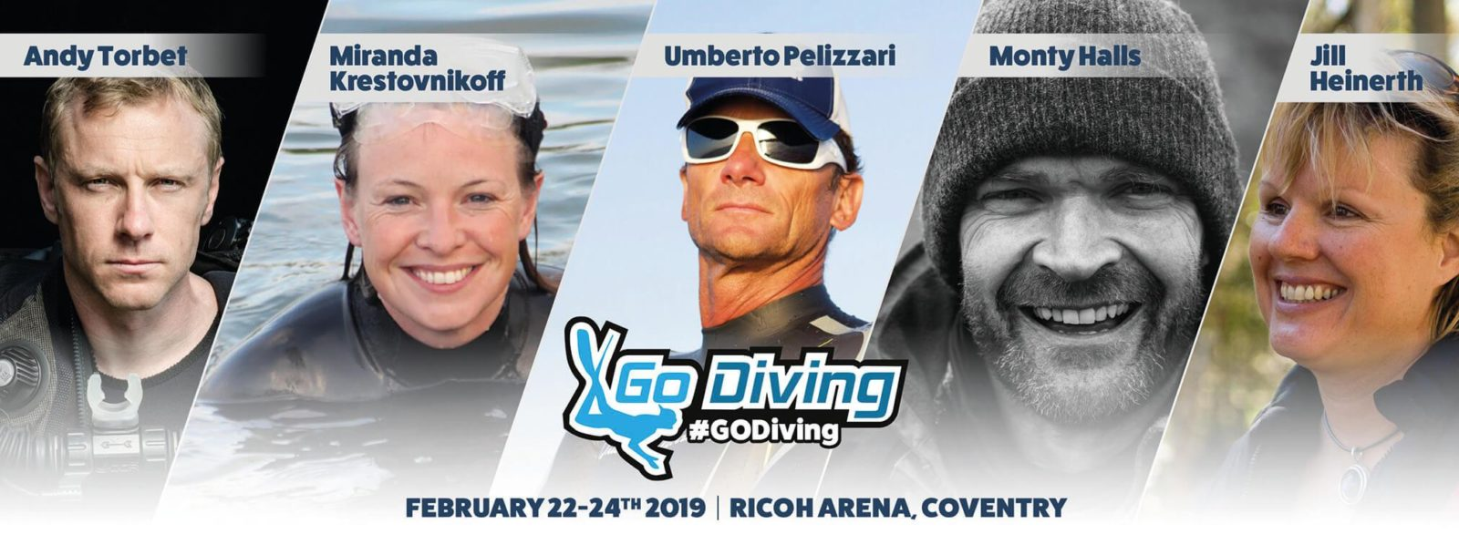GO Diving Show Header
