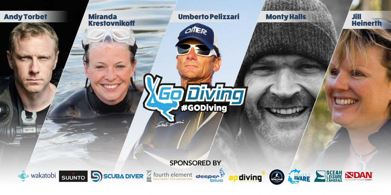 Why should you visit the GO Diving Show? 1