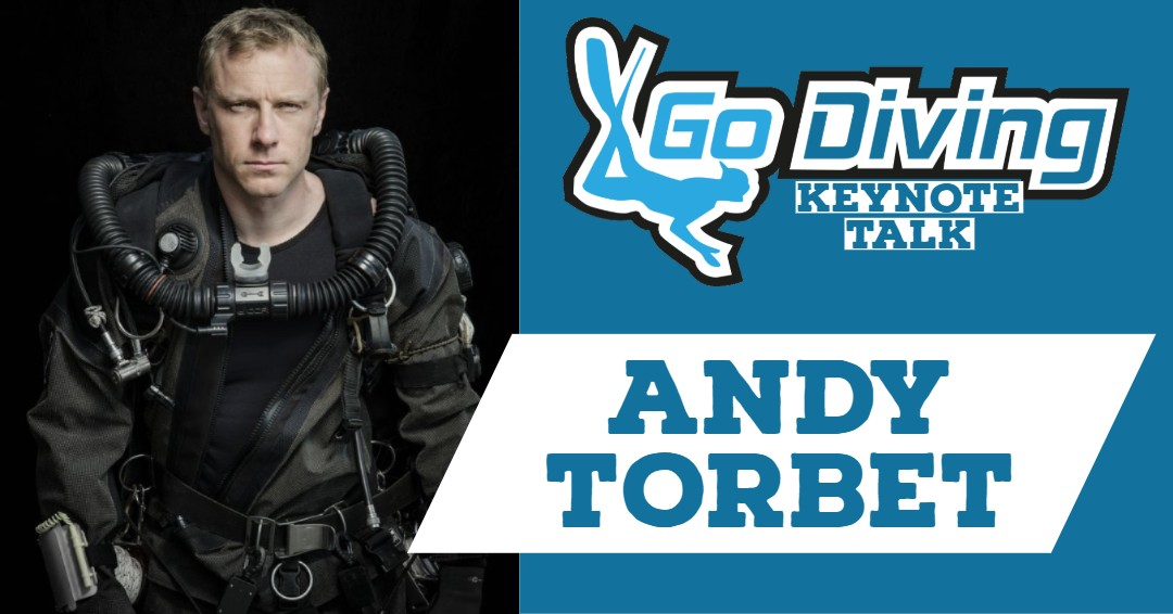 Andy Torbet Talk | GO Diving 2019 3