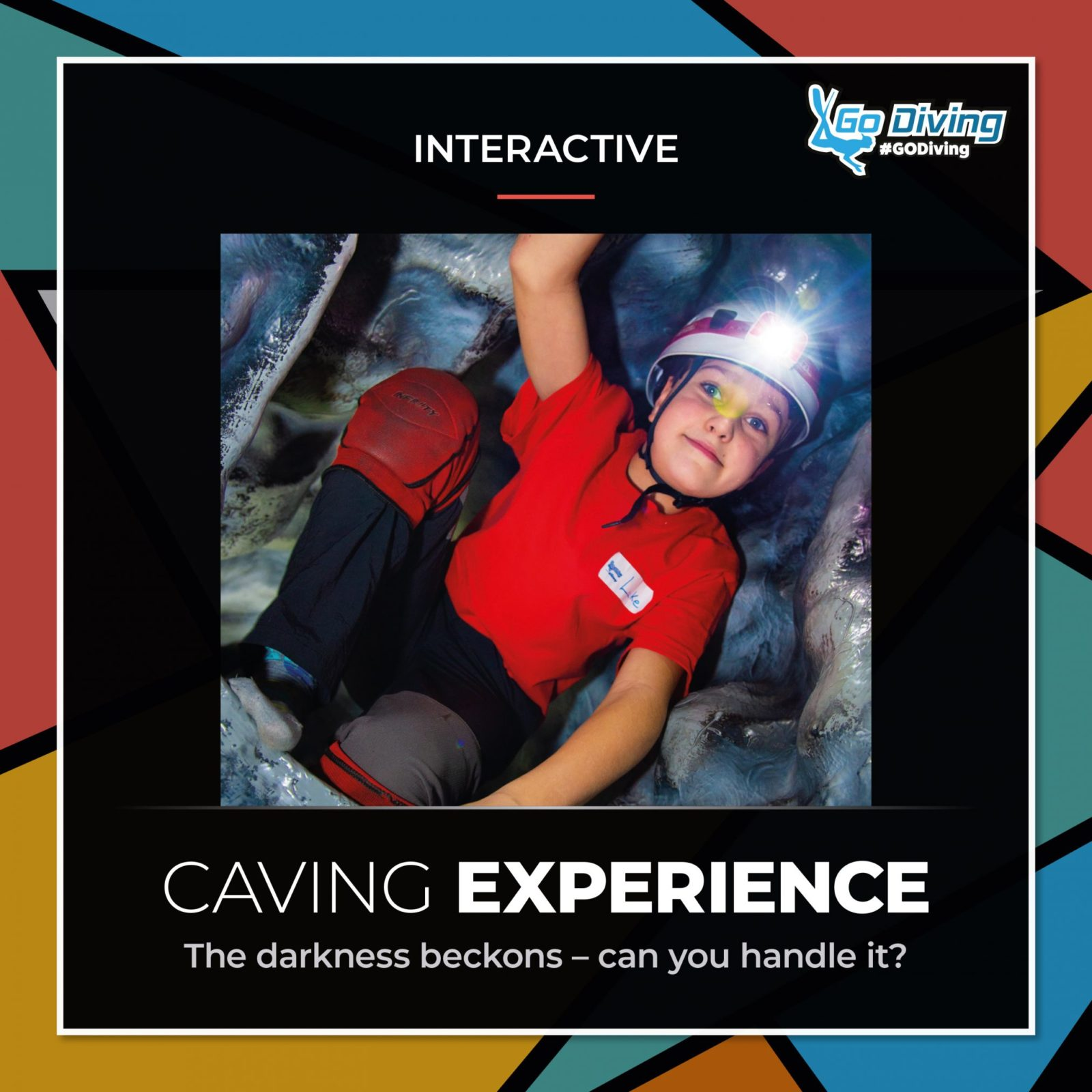 The darkness beckons at GO Diving Show - are you ready for The Cave? 2