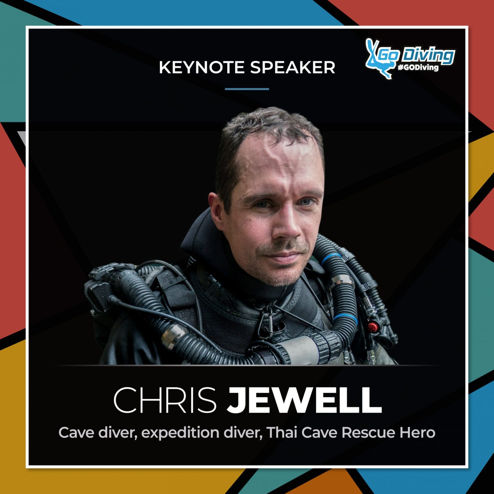 GO Diving Show speaker profile - Chris Jewell 7