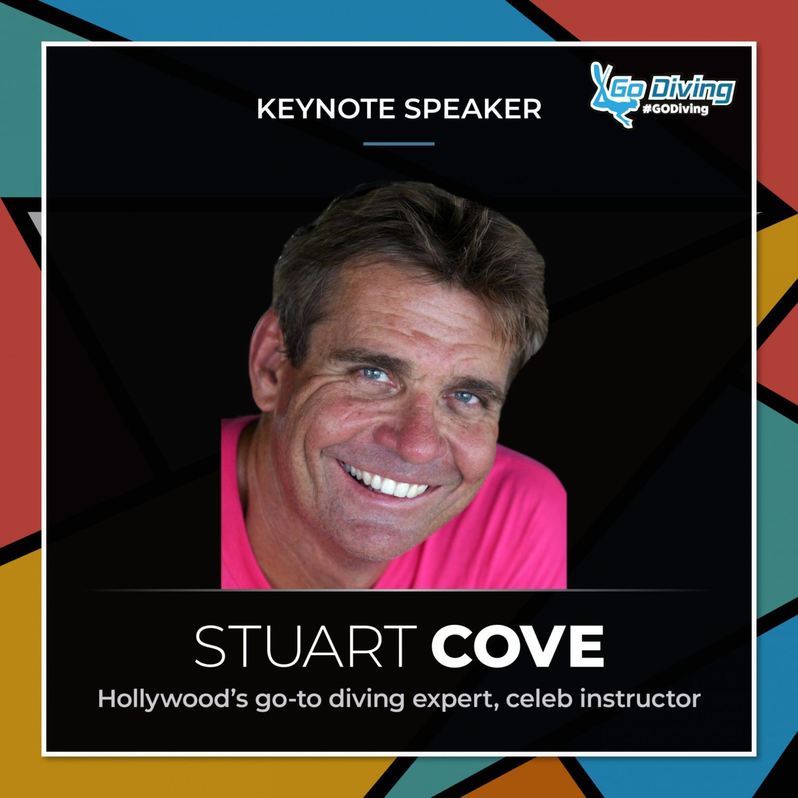 GO Diving Show speaker profile - Stuart Cove 6
