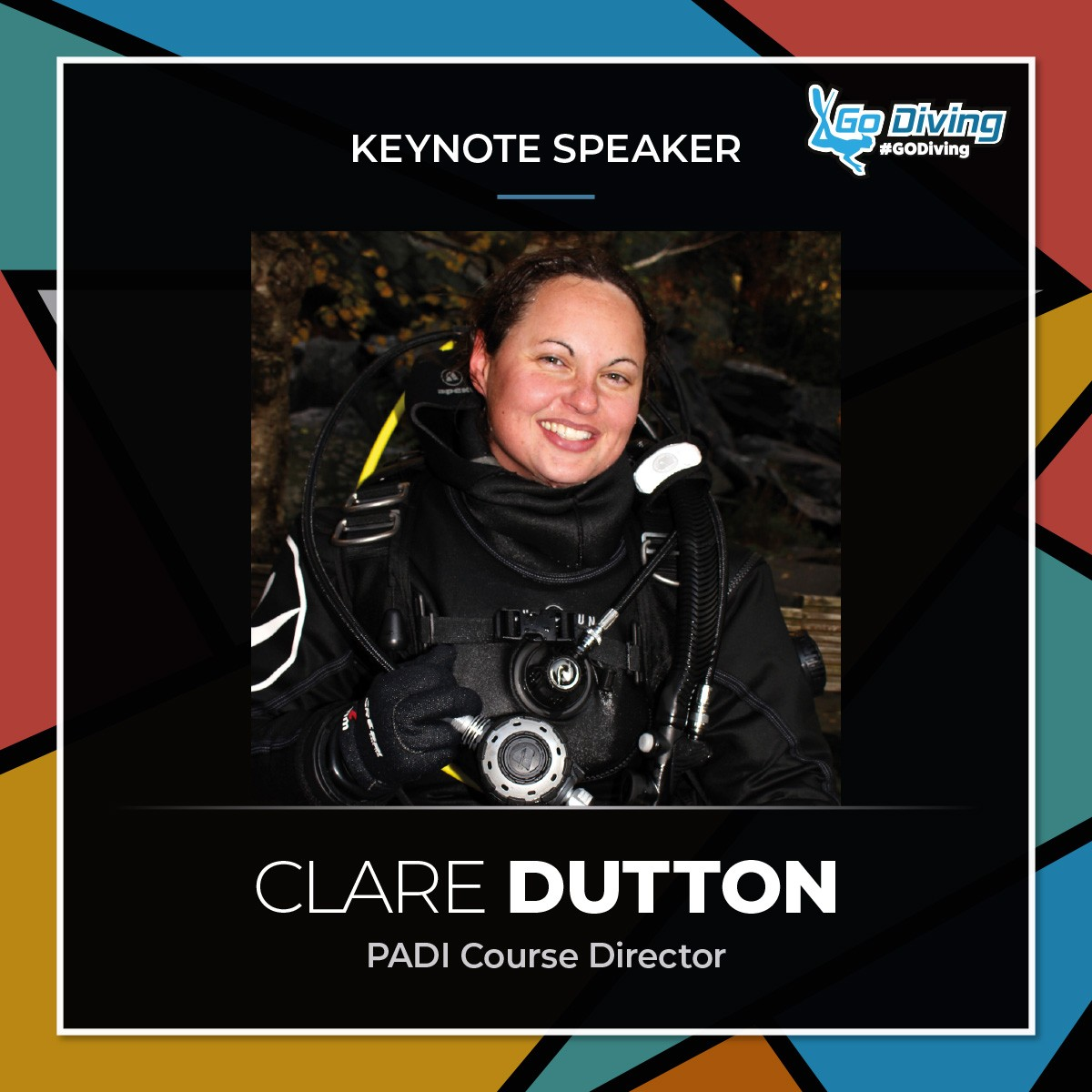 GO Diving Show Speaker Profile - Clare Dutton 1