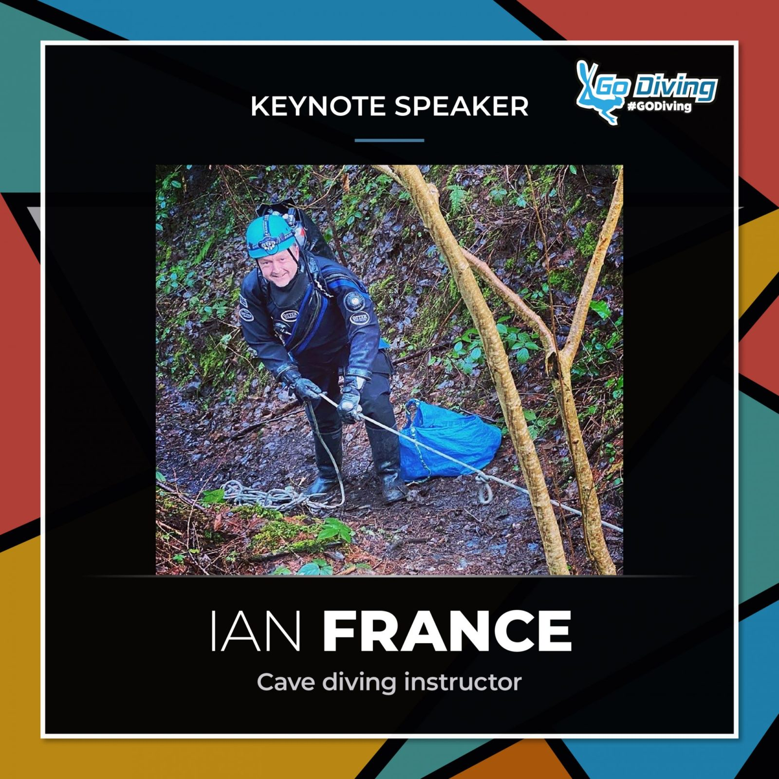 GO Diving Show Speaker Profile - Ian France 1