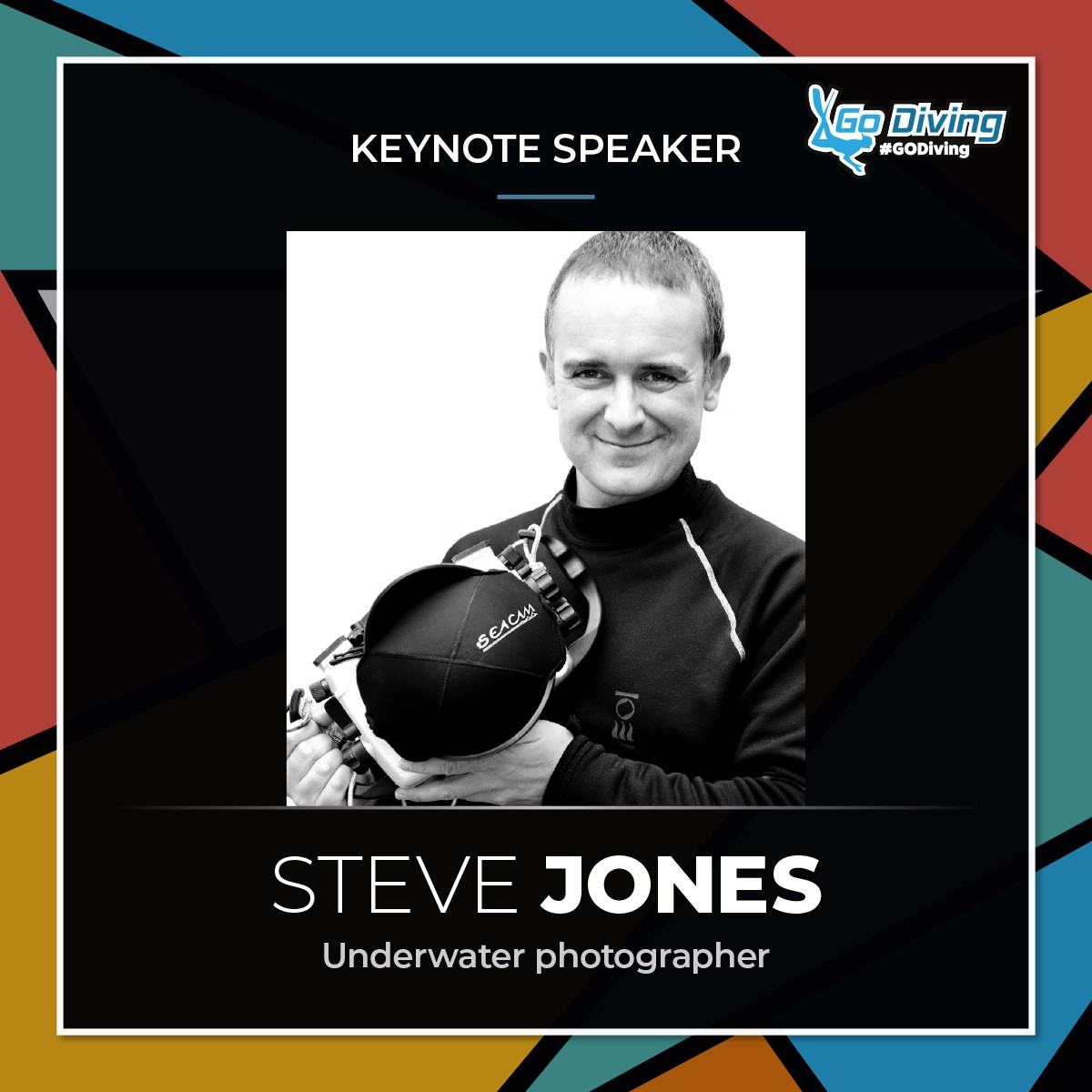 GO Diving Show Speaker Profile - Steve Jones 1