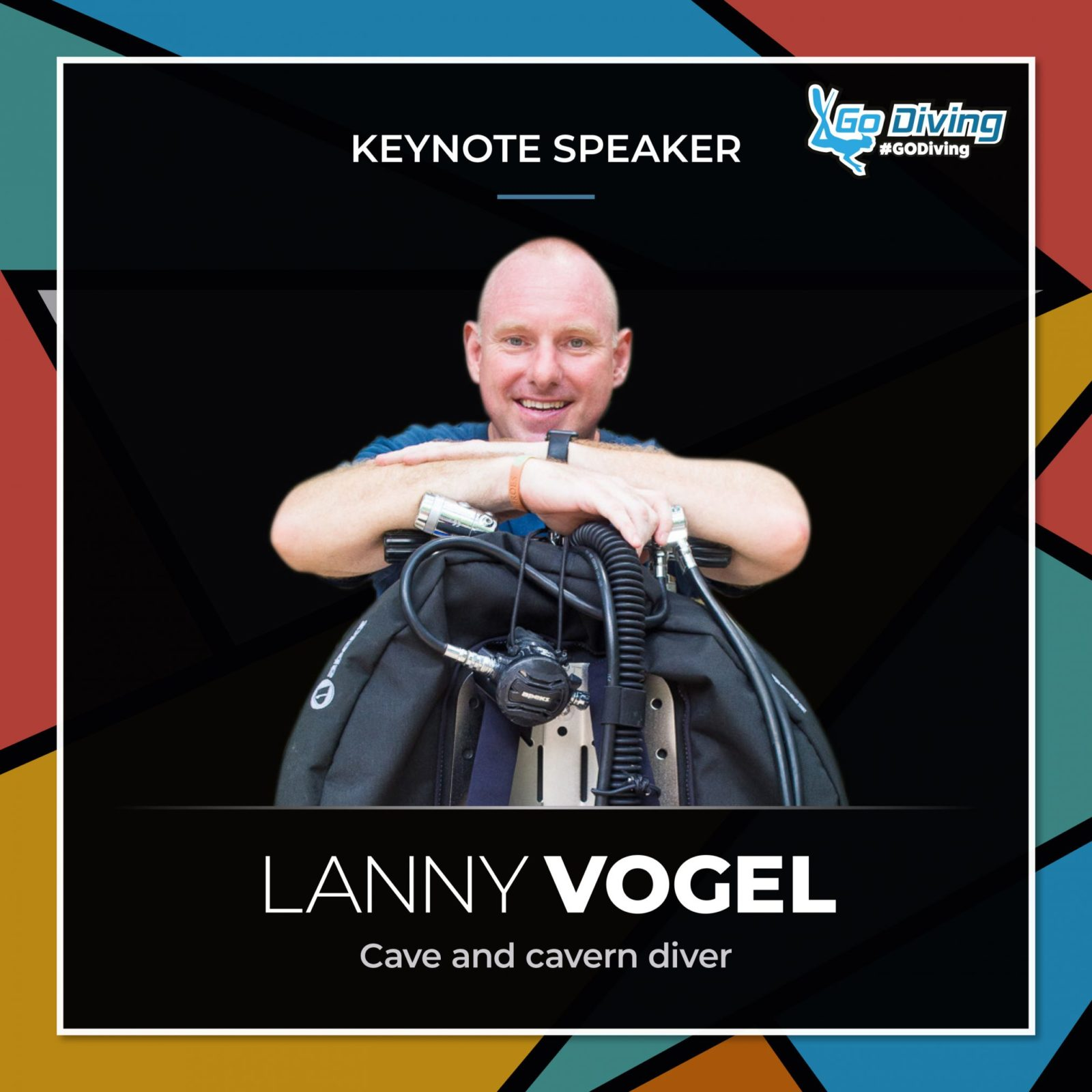 GO Diving Show Speaker Profile - Lanny Vogel 1