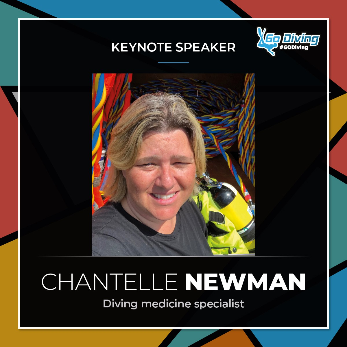 GO Diving Show Speaker Profile - Chantelle Newman 1