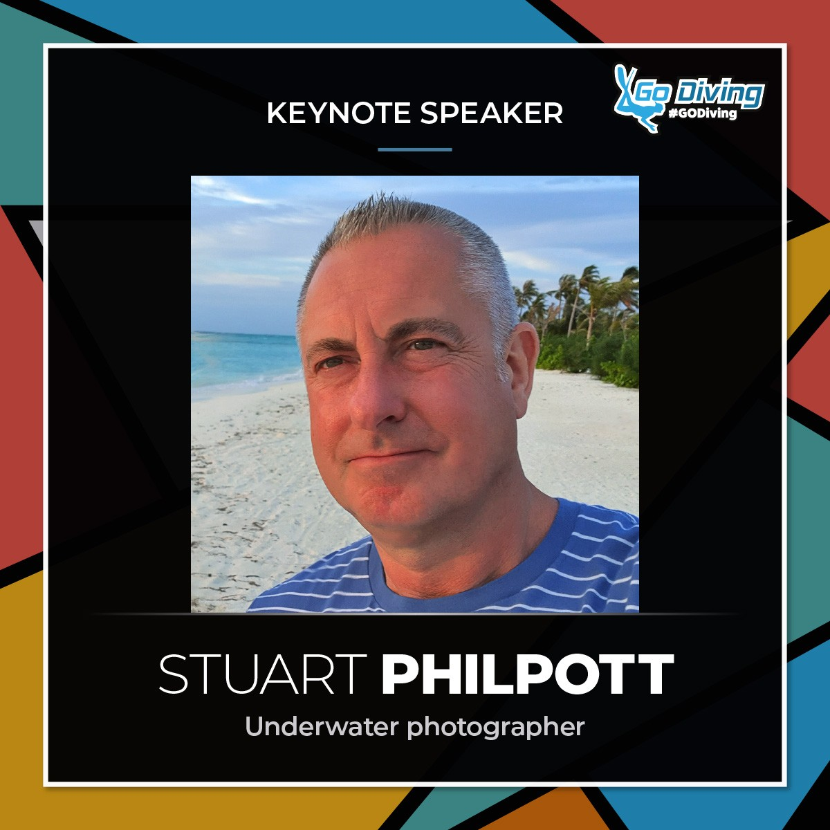 GO Diving Show Speaker Profile - Stuart Philpott 5