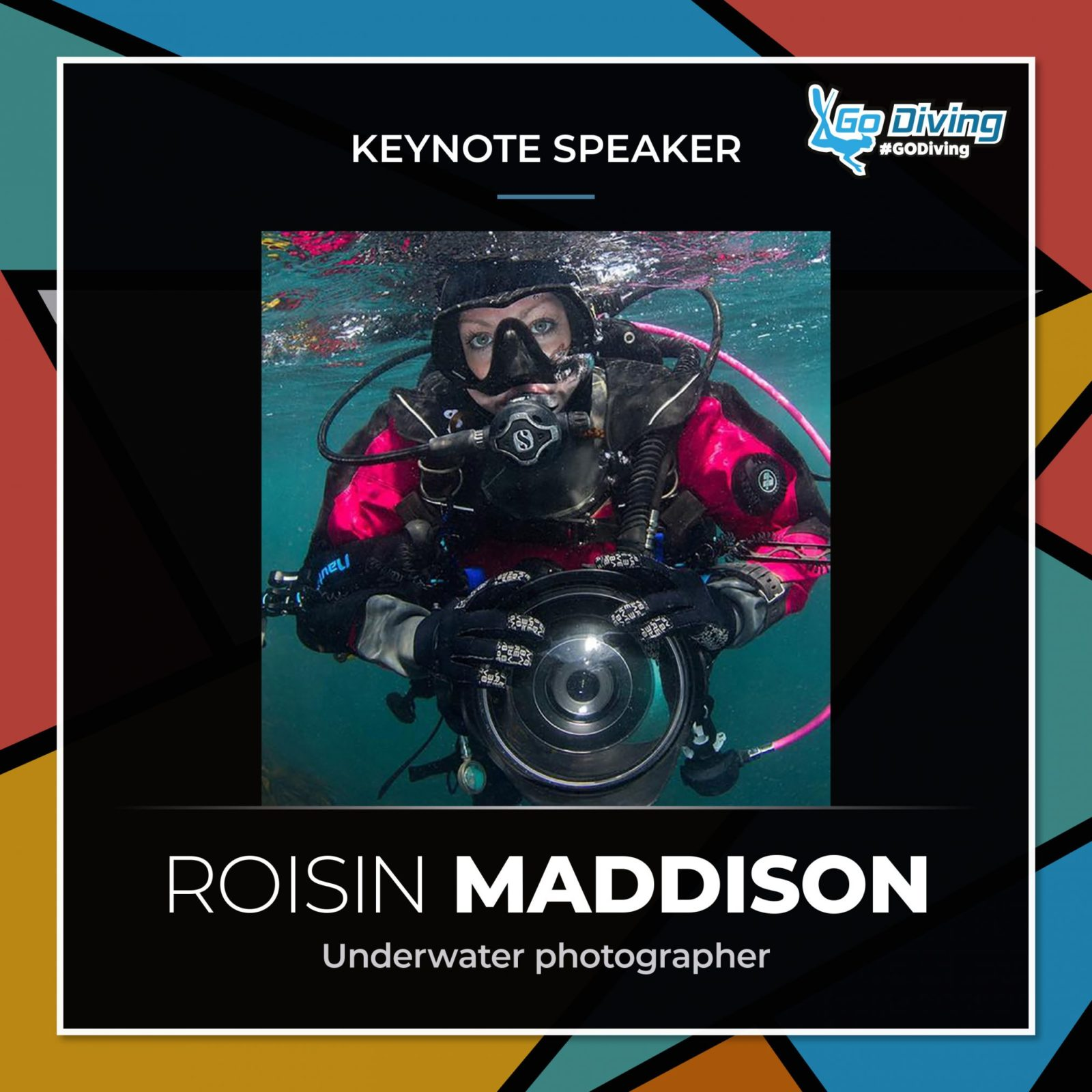 GO Diving Show Speaker Profile - Roisin Maddison 2
