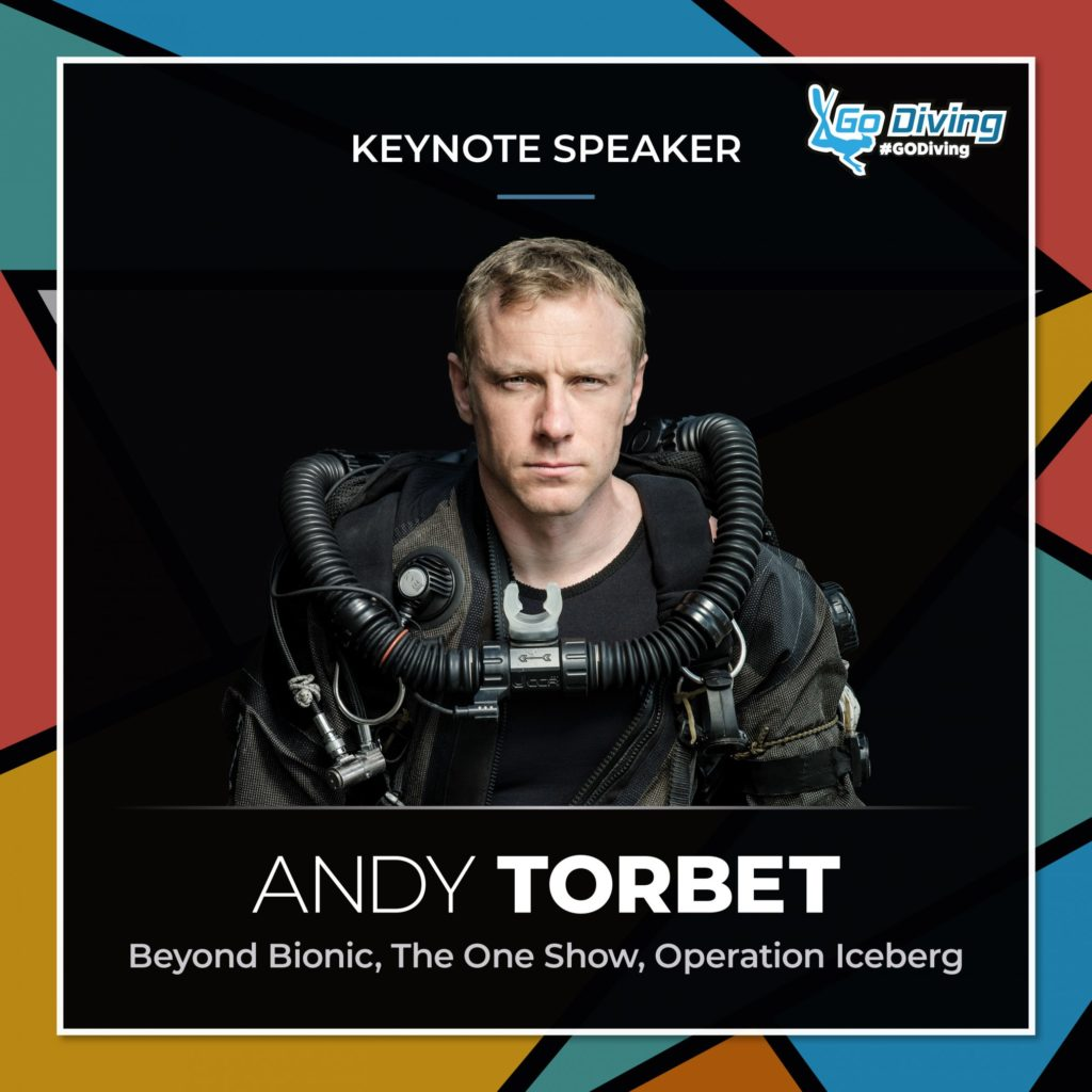 GO Diving Show Main Stage Top 5 - Number 2 - Andy Torbet 6