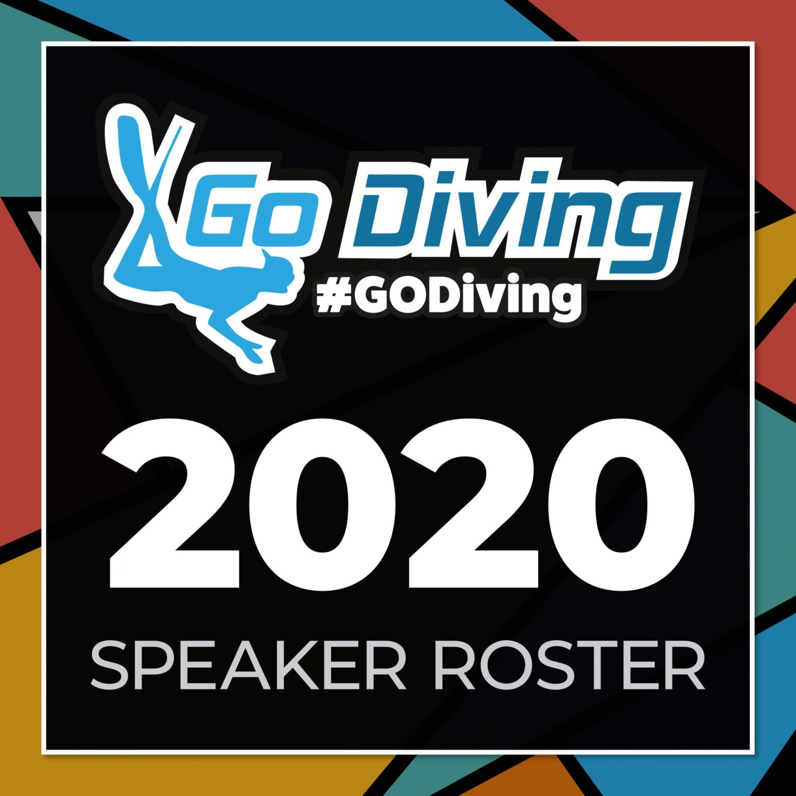 Speaker Roster announced for GO Diving Show 2020 1