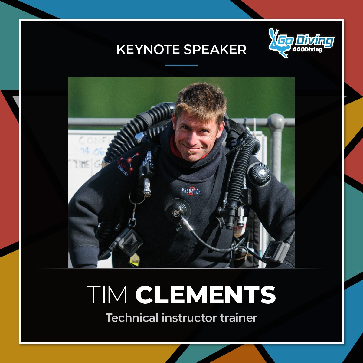 GO Diving Show Speaker Profile - Tim Clements 4