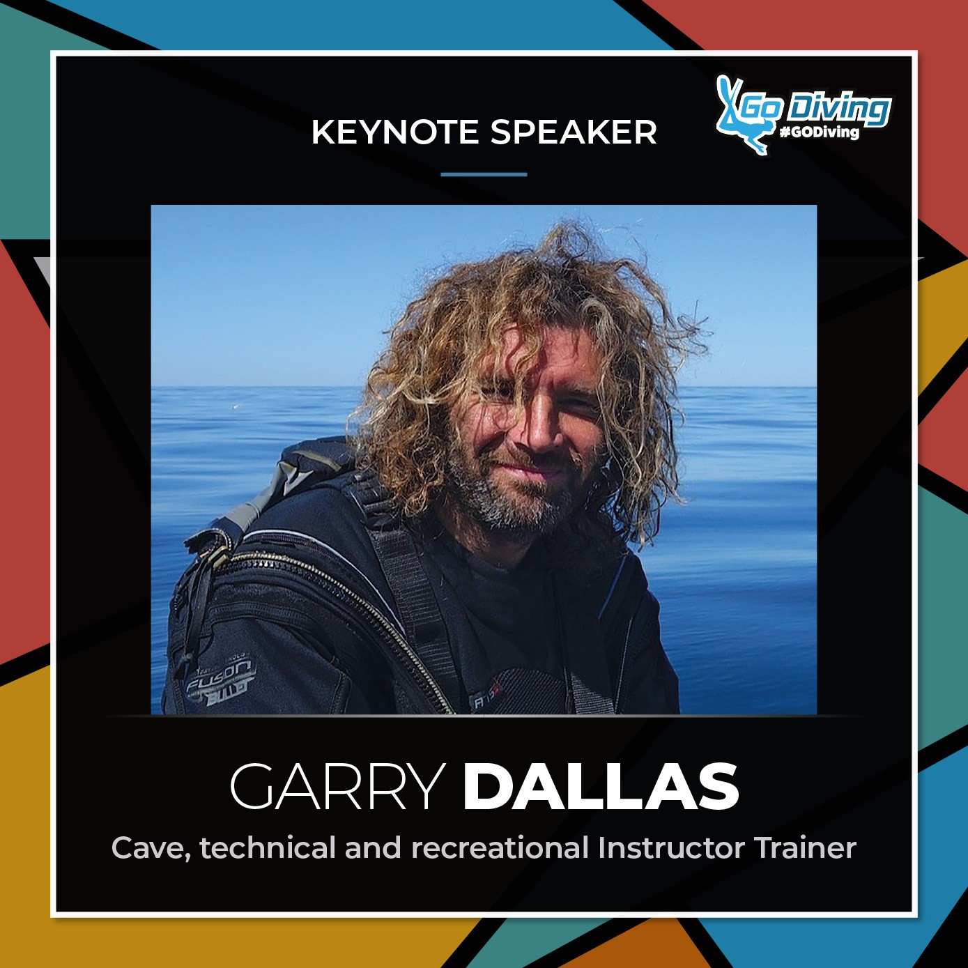 GO Diving Show Speaker Profile - Garry Dallas 1