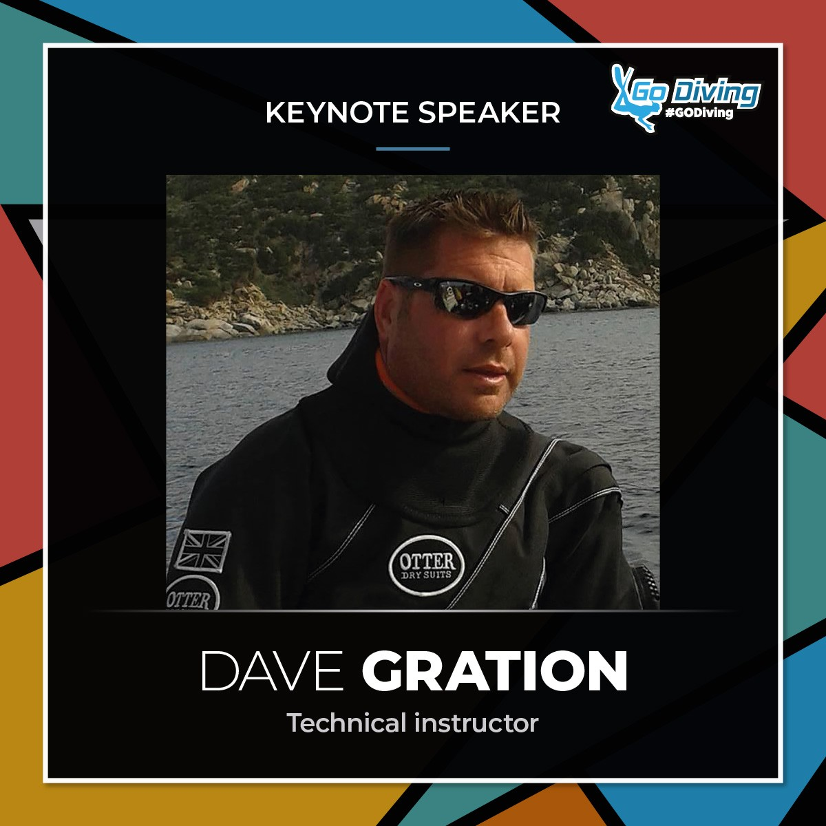 GO Diving Show Speaker Profile - Dave Gration 3