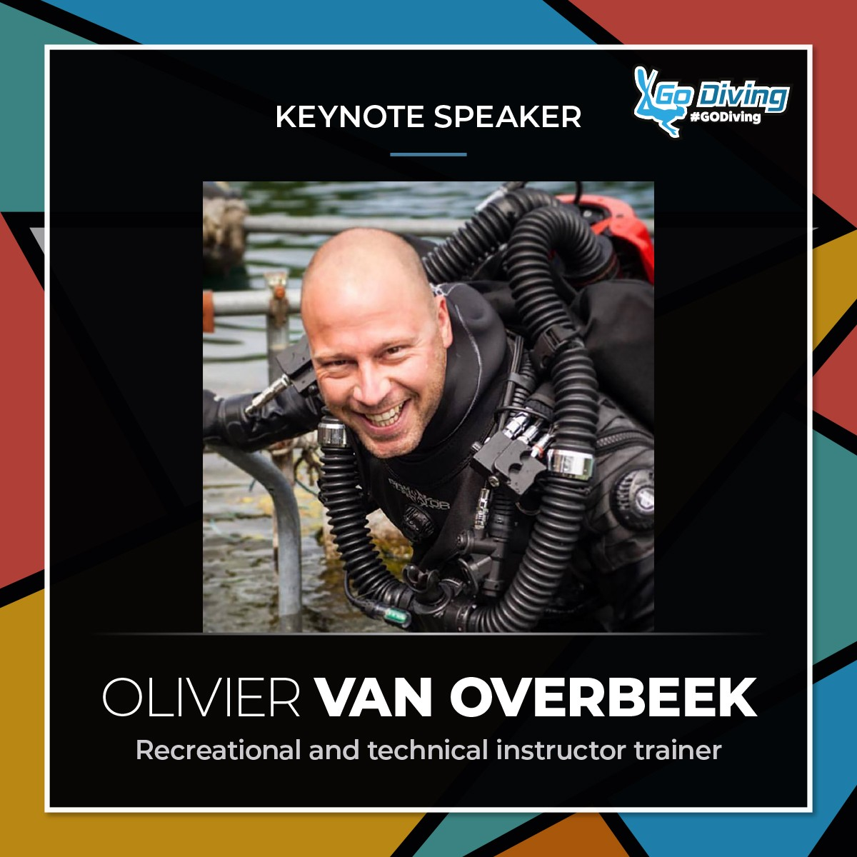 GO Diving Show Speaker Profile - Olivier van Overbeek 1