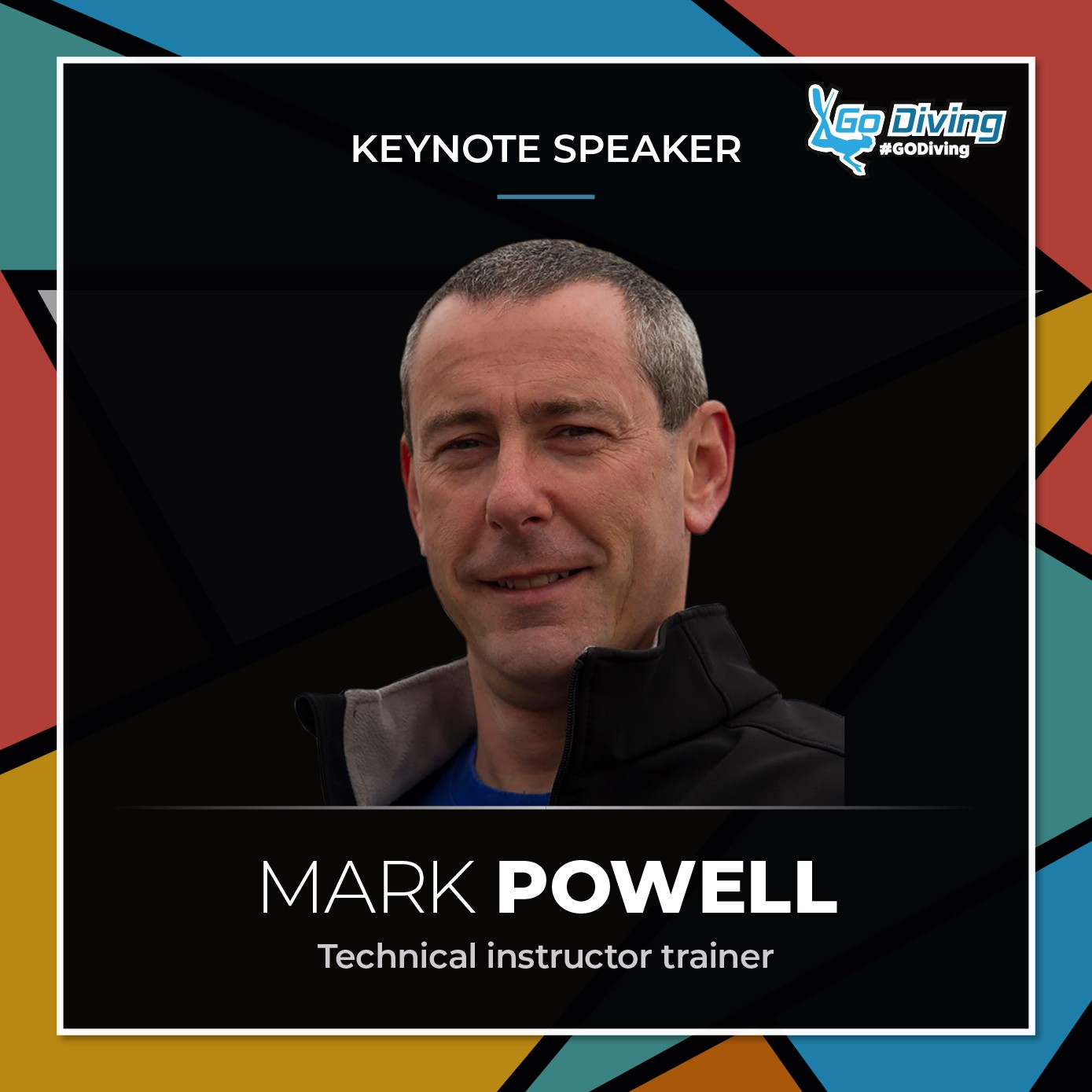GO Diving Show Speaker Profile - Mark Powell 6